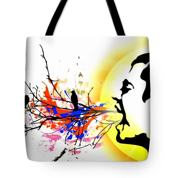 Happiness Must Be Born Within Us 1 Tote Bag