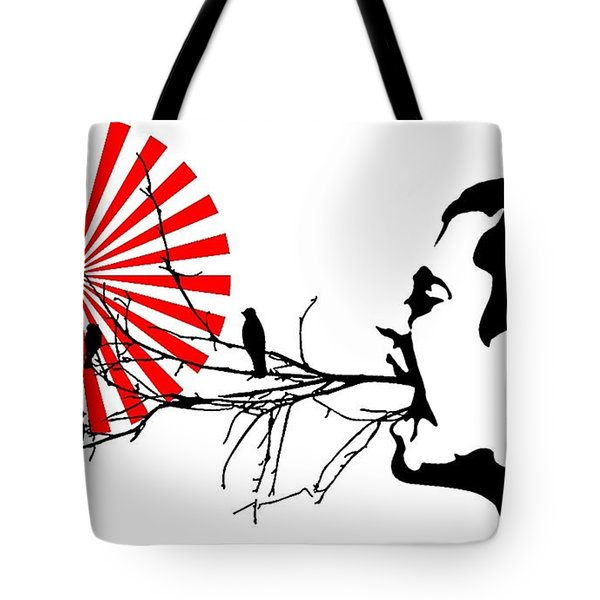 Happiness Must Be Born Within Us 3 Tote Bag
