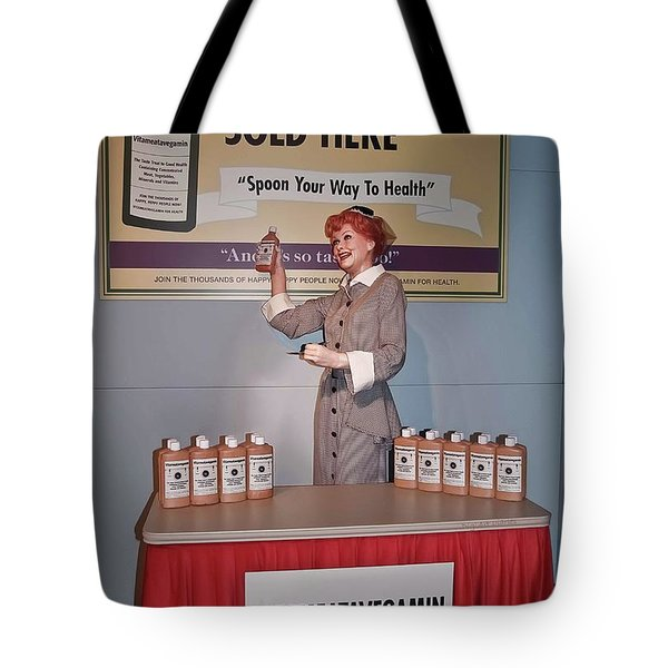 Happy 100th Birthday Lucy Tote Bag