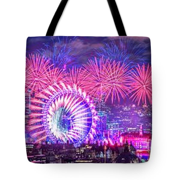 Happy 2018 Tote Bag