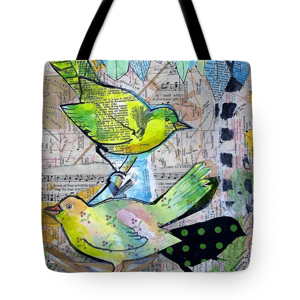 Happy Birds Tote Bag
