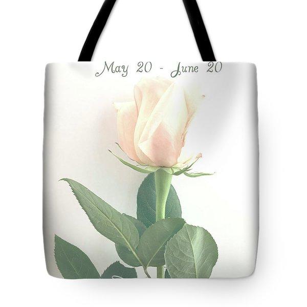 Happy Birthday Gemini Tote Bag