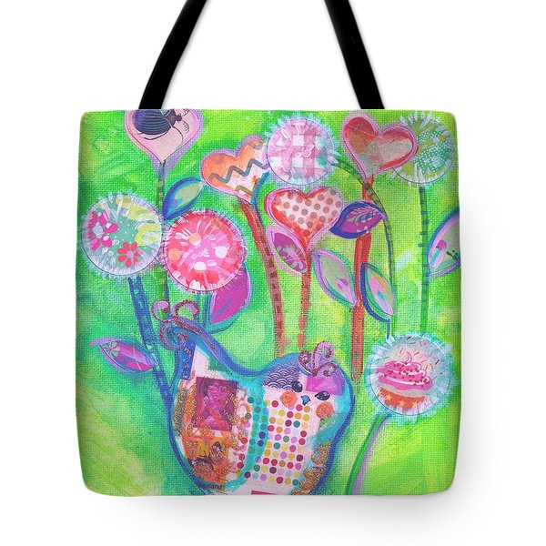 Happy Birthday Mindy Birdy Tote Bag