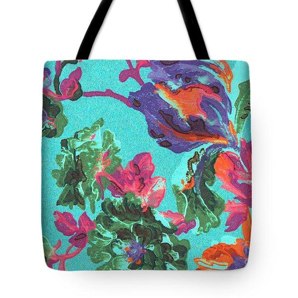 Happy Blooms Tote Bag