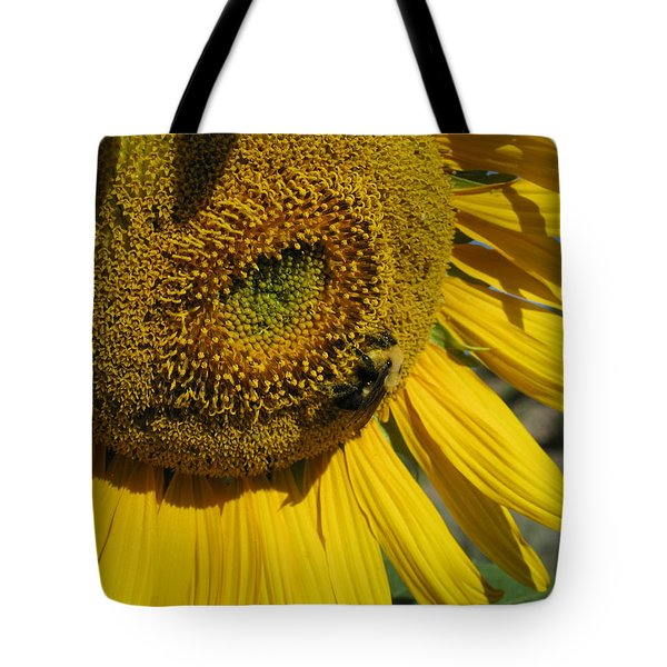 Happy Bumble Bee Tote Bag