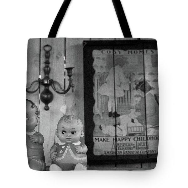 Happy Childhood Tote Bag by Ralph Vazquez