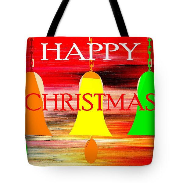 Happy Christmas 27 Tote Bag by Patrick J Murphy