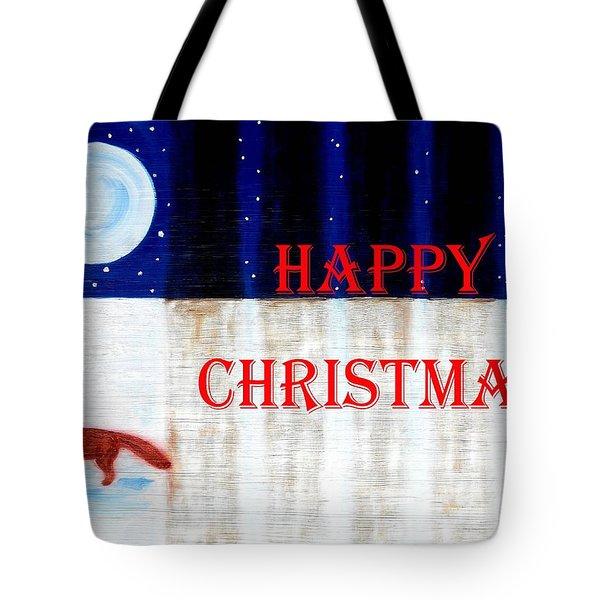 Happy Christmas 28 Tote Bag by Patrick J Murphy
