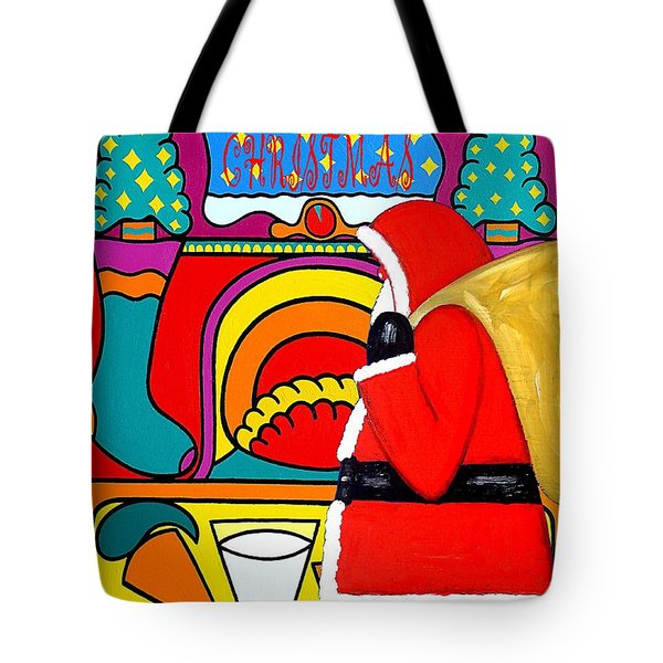 Happy Christmas 30 Tote Bag by Patrick J Murphy