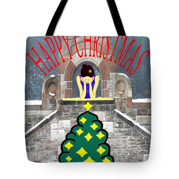 Happy Christmas 31 Tote Bag by Patrick J Murphy