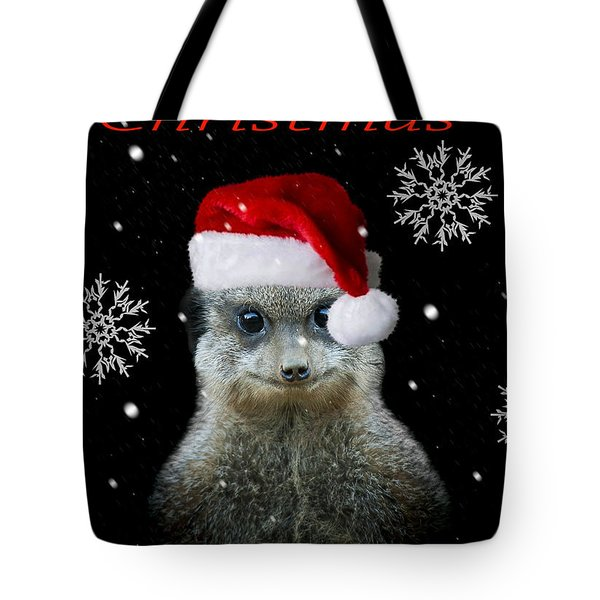 Happy Christmas Tote Bag by Paul Neville