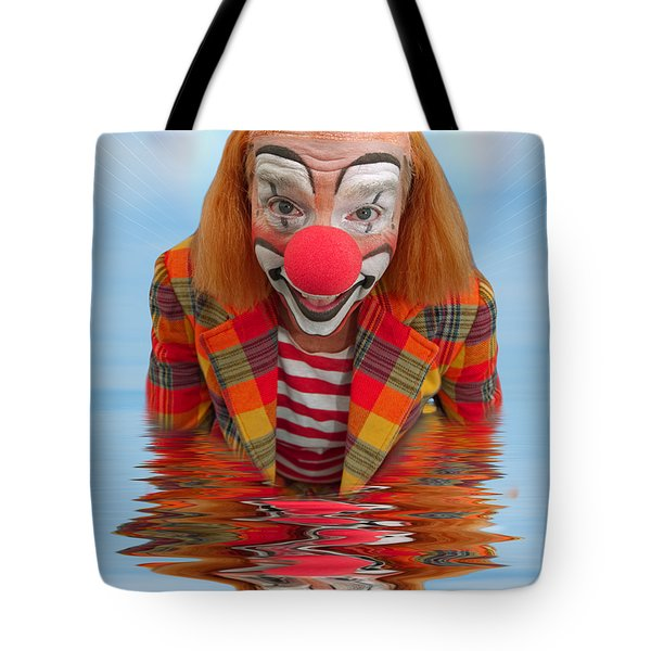 Happy Clown A173323 5x7 Tote Bag