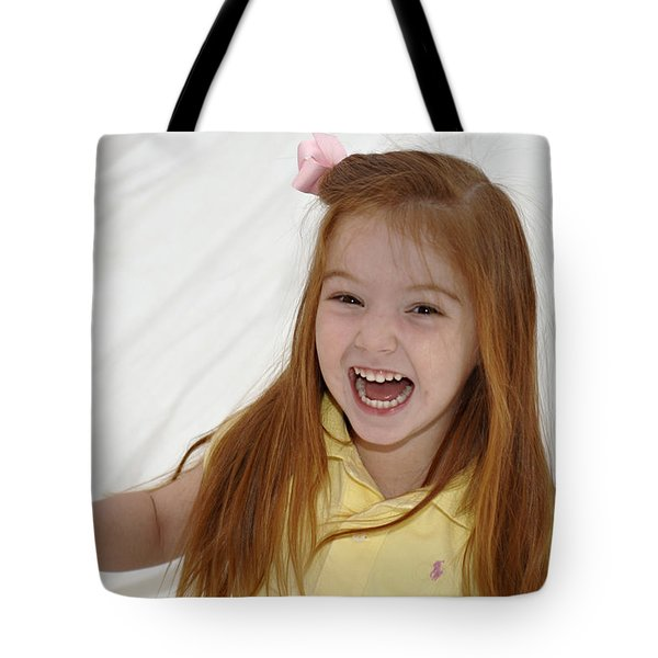 Happy Contest 6 Tote Bag by Jill Reger