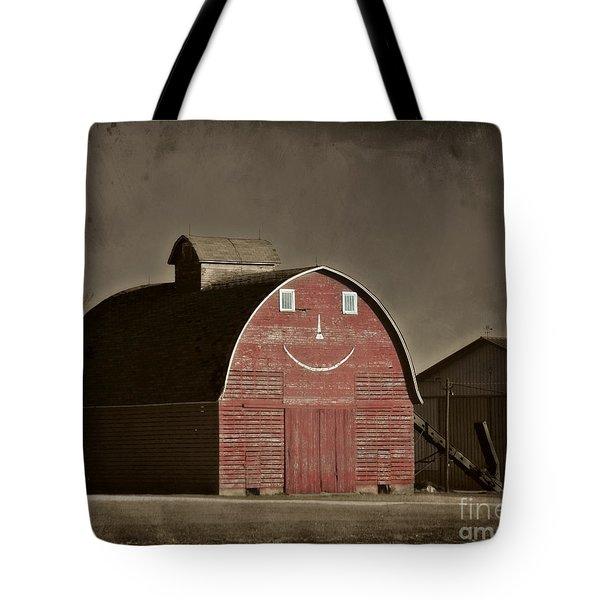 Happy Crib Tote Bag