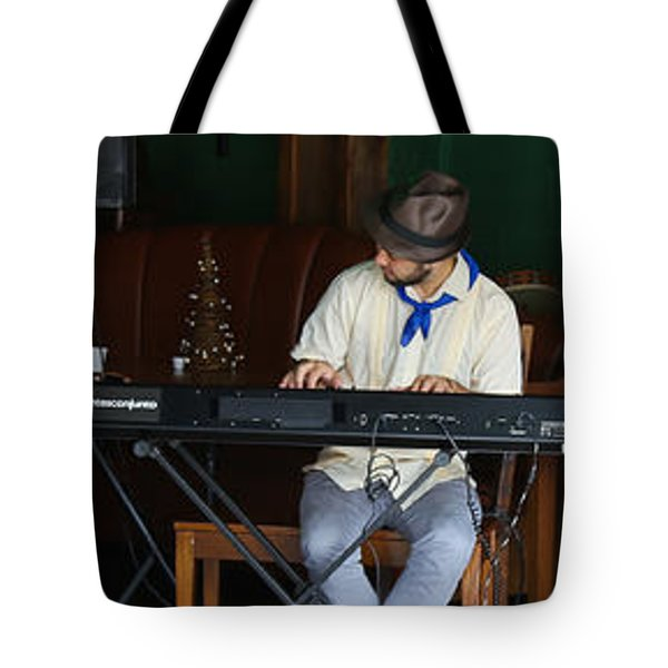 Happy Cuban Band Tote Bag