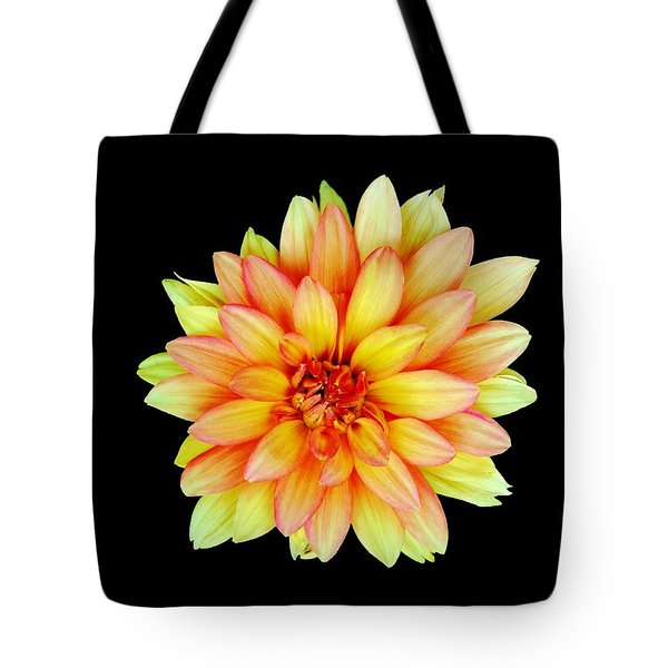 Happy Dahlia Tote Bag