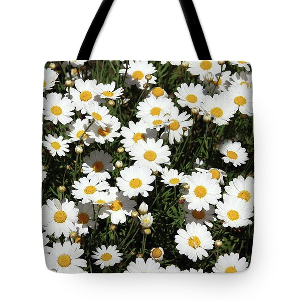 Happy Daisies- Photography By Linda Woods Tote Bag