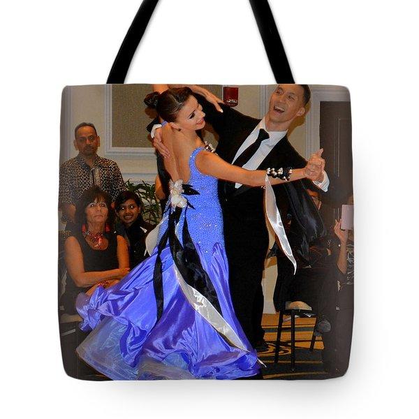 Happy Dancing Tote Bag