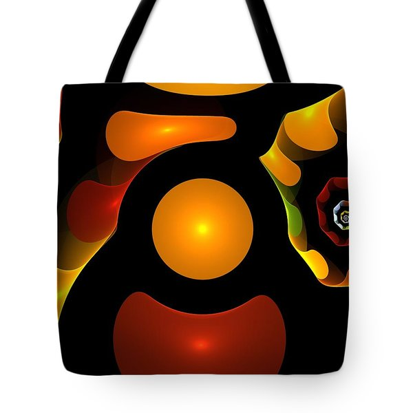 Happy Digit Tote Bag