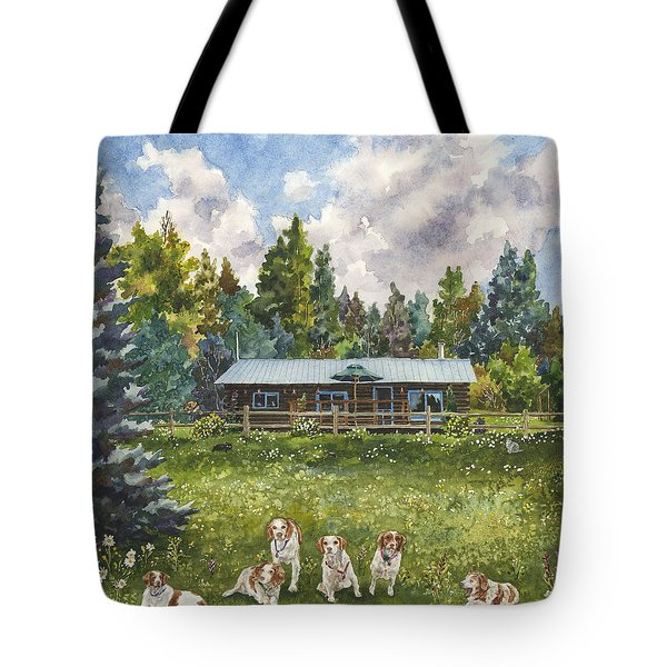 Happy Dogs Tote Bag