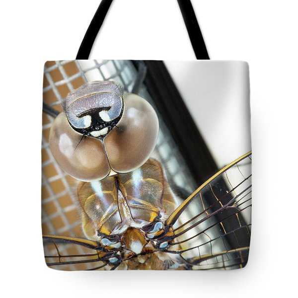 Happy Dragonfly Tote Bag