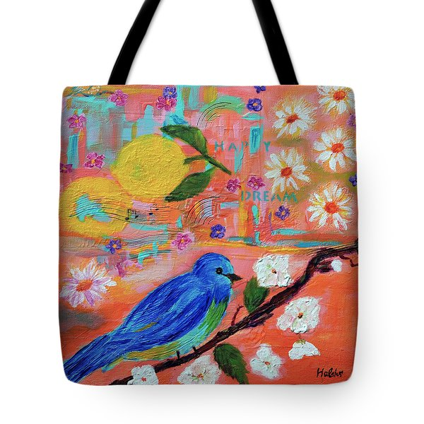 Happy Dream Tote Bag