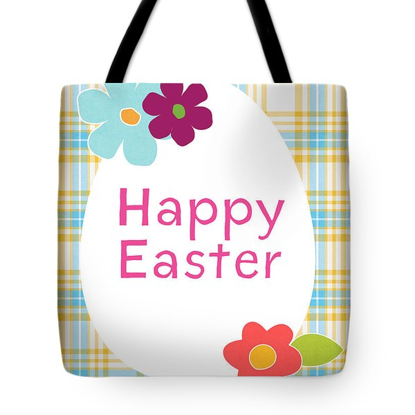 Happy Easter Egg- Art By Linda Woods Tote Bag
