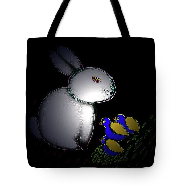 Happy Easter Tote Bag by Latha Gokuldas Panicker