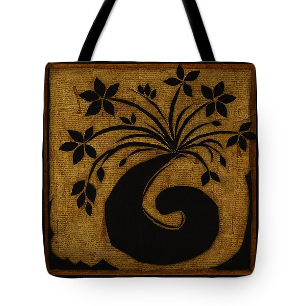 Tote Bag featuring the mixed media Happy Exuberance by Gloria Rothrock