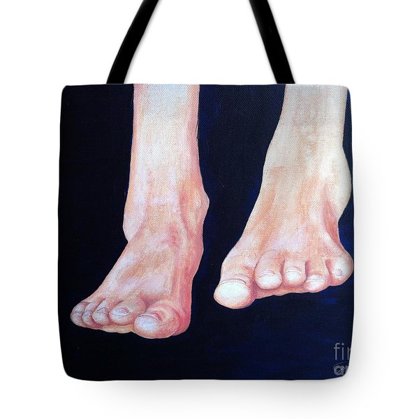Happy Feet  Tote Bag