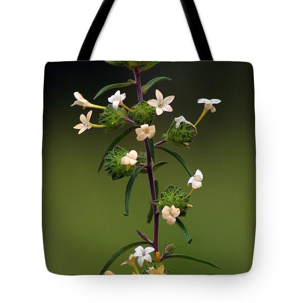 Happy Flowers Tote Bag