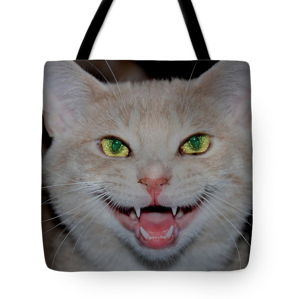 Happy For Spring Cat Tote Bag