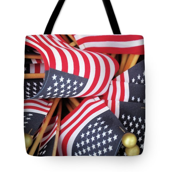 Happy Fourth Of July 2017 Tote Bag