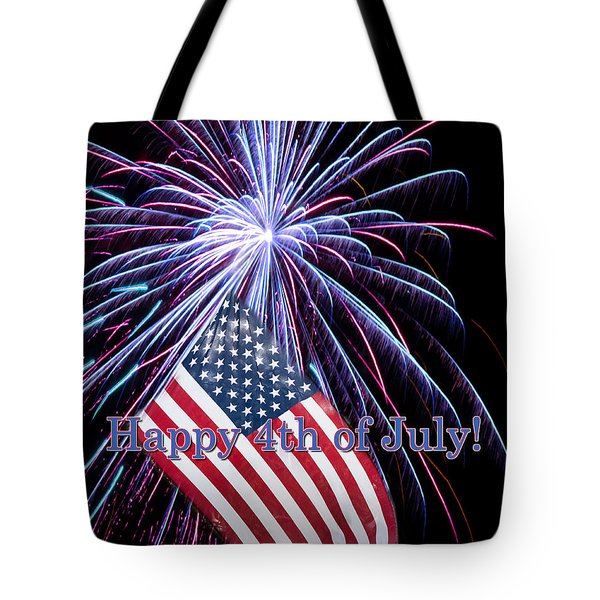 Happy Fourth Of July Tote Bag