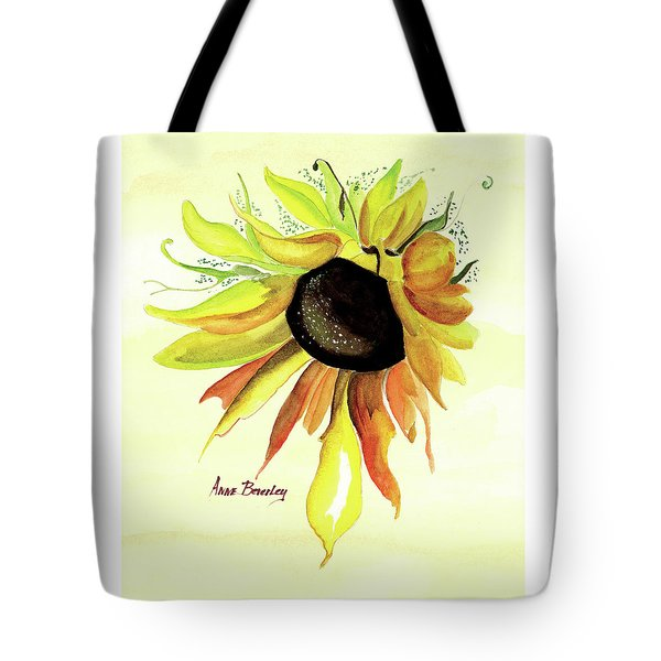 Tote Bag featuring the painting Happy Friday by Anne Beverley-Stamps