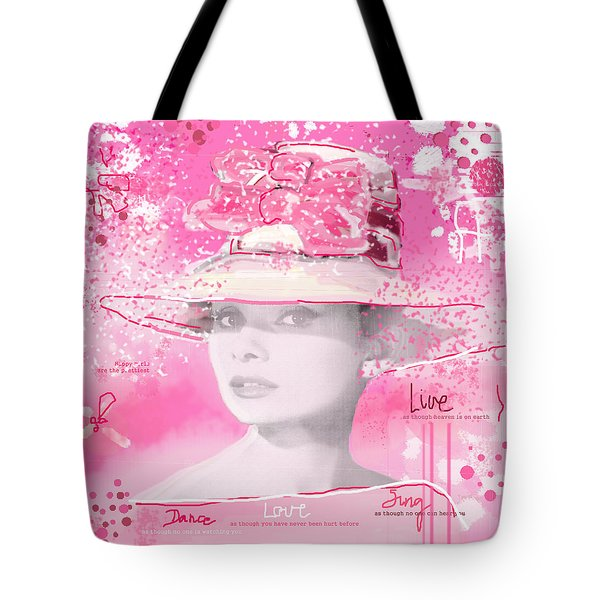 Happy Girl Tote Bag by Sladjana Lazarevic