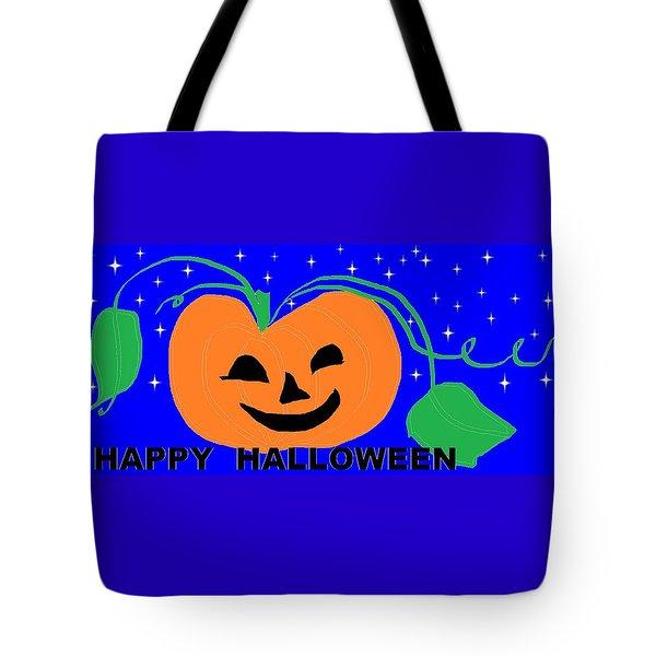 Happy Halloween 1 Tote Bag