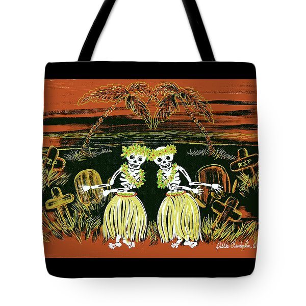 Happy Halloween Dance Tote Bag