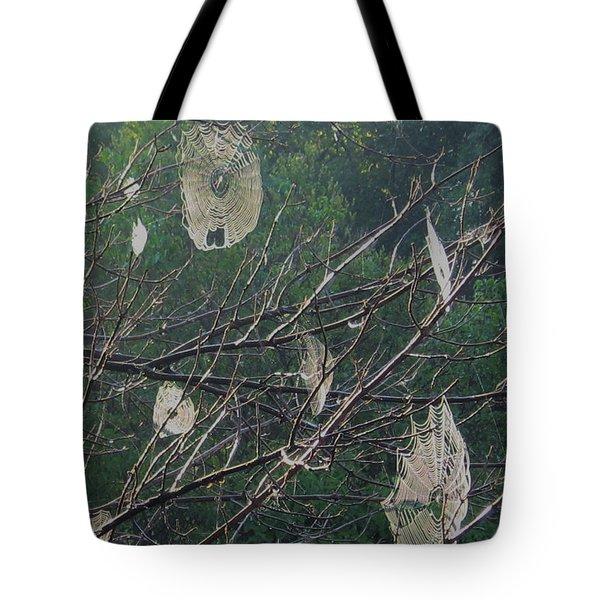 Happy Halloween Tote Bag by Deborah Dendler