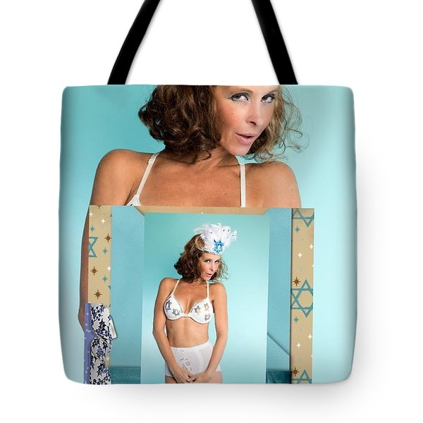 Tote Bag featuring the photograph Beautiful Jewish Women by Lisa Piper