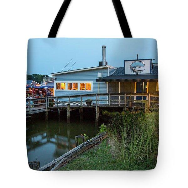 Happy Harbor Tote Bag
