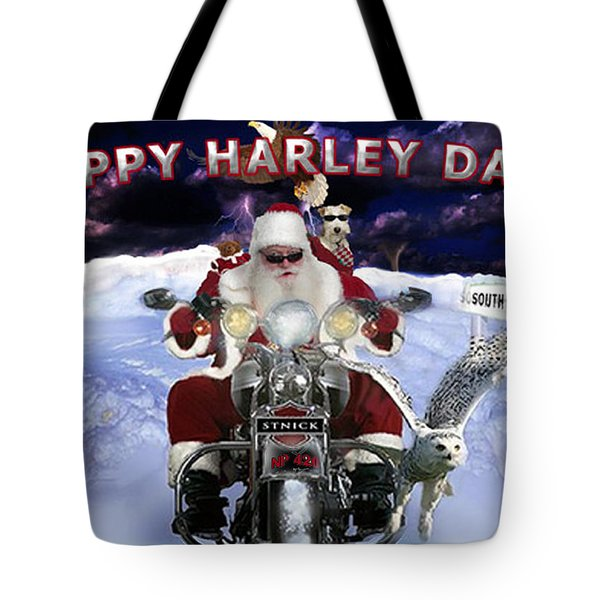 Happy Harley Days Tote Bag