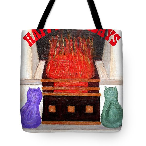 Happy Holidays 14 Tote Bag by Patrick J Murphy