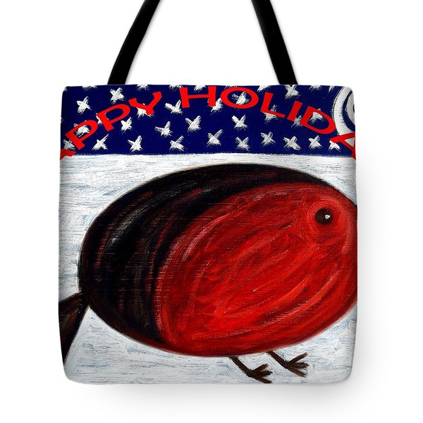 Happy Holidays 3 Tote Bag by Patrick J Murphy