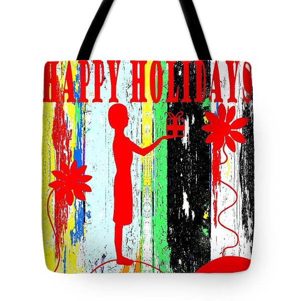 Happy Holidays 62 Tote Bag by Patrick J Murphy
