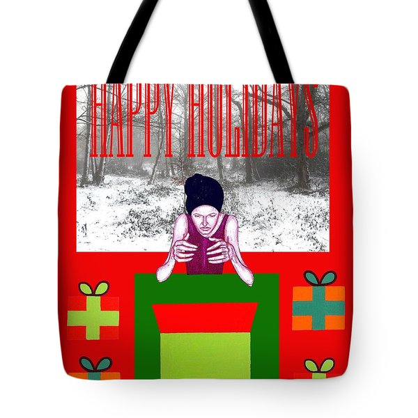 Happy Holidays 63 Tote Bag by Patrick J Murphy