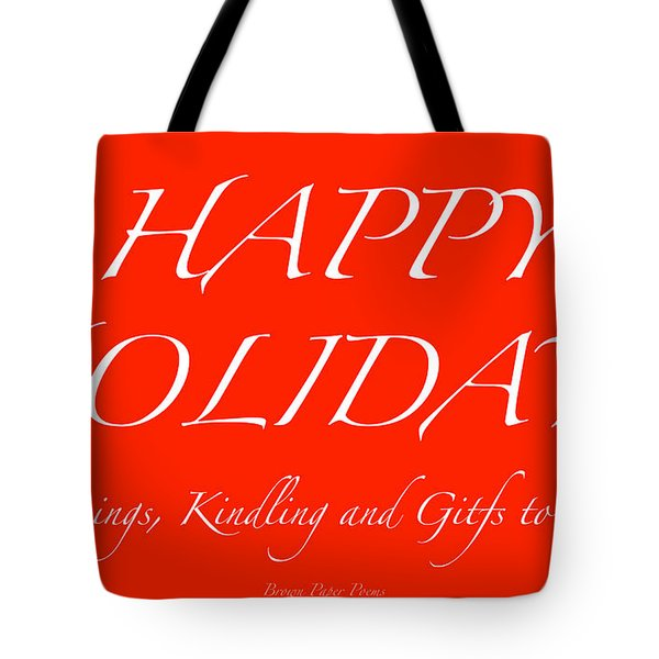 Happy Holidays - Day 1 Tote Bag