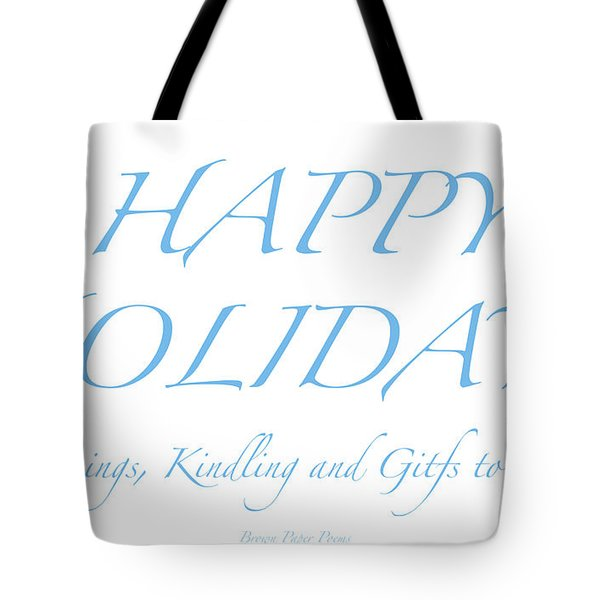Happy Holidays - Day 2 Tote Bag
