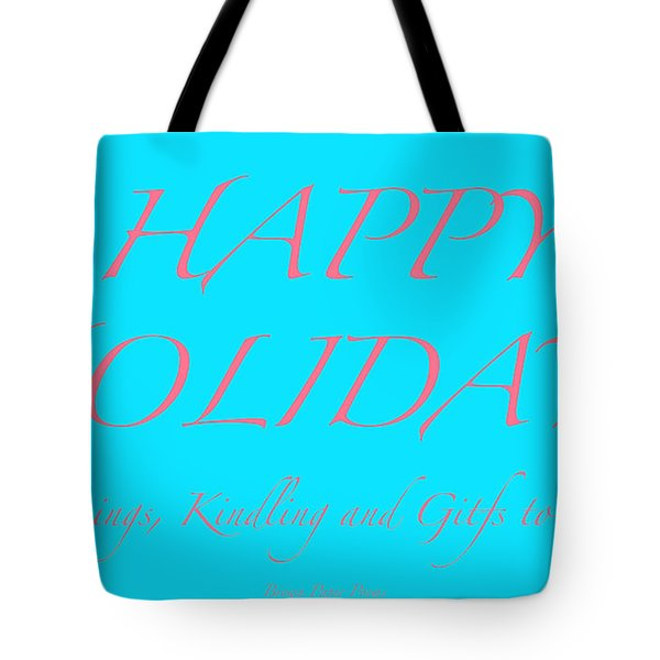 Happy Holidays - Day 3 Tote Bag