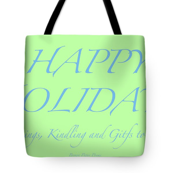 Happy Holidays - Day 4 Tote Bag